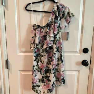 Vince Camuto One -shoulder Dress NWT